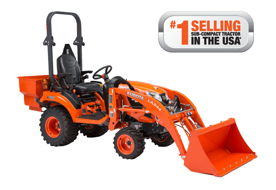 Kubota BX Series is #1 Selling Sub-Compact in USA